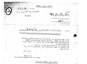 ההודעה על הפקעת אדמות ראמיה מ-1976